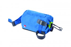 Acepac Bike Bottle Bag Fat niebieska